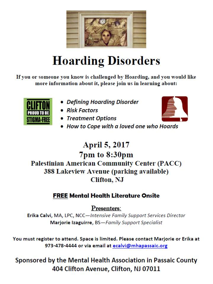 hoarding disorder workshop