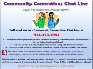 MHAPC Chat Line Flyer